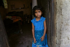 People of the Jharia coalmines area in India. Royalty Free Stock Image