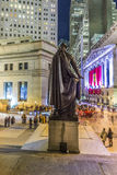 People join the party at wall street due to Ferrari  Wall street Royalty Free Stock Photography