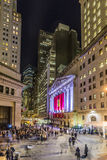 People join the party at wall street due to Ferrari  Wall street Stock Photos