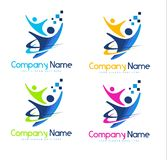 People  Logo Royalty Free Stock Photos