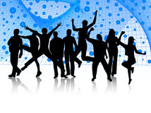 People jumping Stock Image
