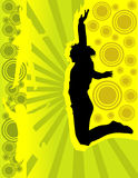 People jumping vector Stock Photos