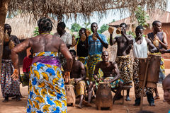 People in KARA, TOGO Royalty Free Stock Photography