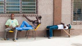 People in KARA, TOGO Royalty Free Stock Photo