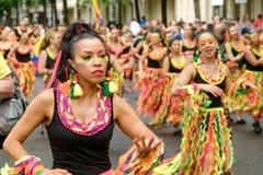 People on Karneval der Kulturen  Carnival of  Cultures in Berl Stock Image