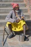 People of Kathmandu-Nepal Royalty Free Stock Images