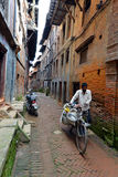 People from Katmandu suburbs living in poverty Royalty Free Stock Photography