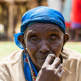 People in Kenya Royalty Free Stock Images