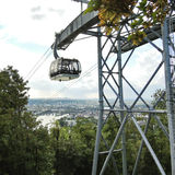 People in Koblenz Cable Car, Germany Stock Photos