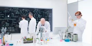 People laboratory analysis Stock Photo