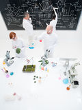 People laboratory experiments Royalty Free Stock Photography
