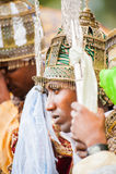 People in LALIBELA, ETHIOPIA Royalty Free Stock Photography