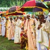 People in LALIBELA, ETHIOPIA Stock Image
