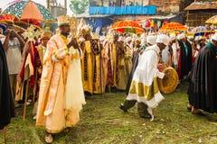 People in LALIBELA, ETHIOPIA Royalty Free Stock Photos