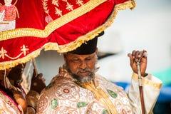 People in LALIBELA, ETHIOPIA Royalty Free Stock Image