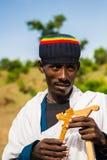 People in LALIBELA, ETHIOPIA Royalty Free Stock Photo