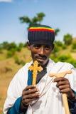 People in LALIBELA, ETHIOPIA Stock Photo