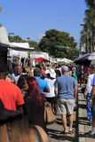 People at Las Olas Art Fair Royalty Free Stock Images