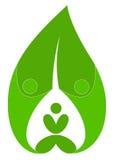 People leaf Stock Image