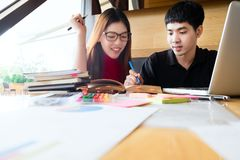 People, learning, education and school concept. Stock Images