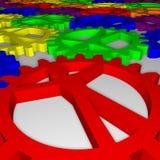People Like Gears - Company, Work, Individuality Stock Image
