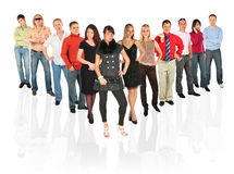 People line Royalty Free Stock Images