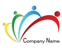 People logo Stock Photography