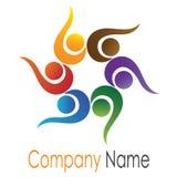 People logo Stock Photography