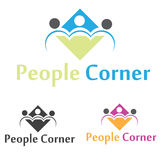 People Logo Stock Image