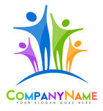 People Logo Stock Photo