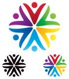 People Logo royalty free illustration