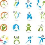 People Logos Stock Image