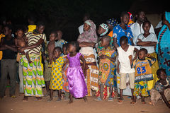 People in LOME, TOGO Stock Image