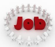 People looking for job. Career opportunity concept Royalty Free Stock Image
