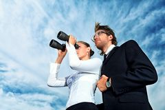 People looking Royalty Free Stock Photos