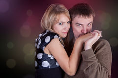 People in love Stock Photo