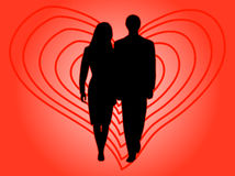 People in love Royalty Free Stock Photo