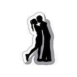 People in love couple icon Stock Images