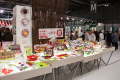 People at Macef home show in Milan Stock Photo