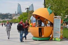 People make shopping, Baku city Royalty Free Stock Image