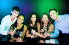 People making a toast Royalty Free Stock Photography