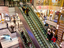 People in the mall Royalty Free Stock Images