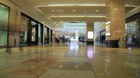 People in the mall. Timelapse. stock footage