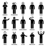 People Man Emotion Feeling Action Pictogram vector illustration