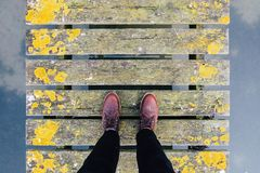 People, Man, Feet, Shoes, Leather Royalty Free Stock Photography