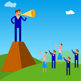 People management stock illustration