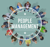 People Management Manpower Occupation Employee Concept Stock Photos