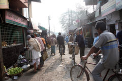 People on market in Baruipur Royalty Free Stock Photo