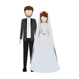 people married couple icon Stock Photography