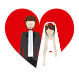 people married couple icon Royalty Free Stock Image